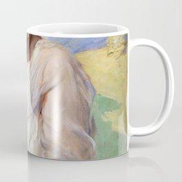Leopold Schmutzler - Portrait of a lady - Digital Remastered Edition Coffee Mug