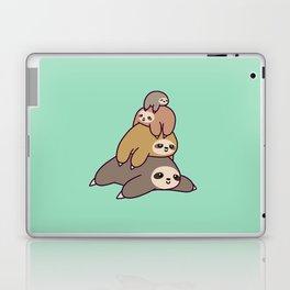 Sloth Stack Laptop & iPad Skin