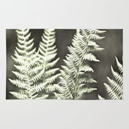 Fantasy Feather Like Fern Rug