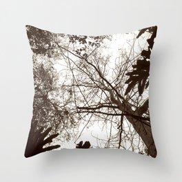 Memories of Endor 1 (B&W) Throw Pillow