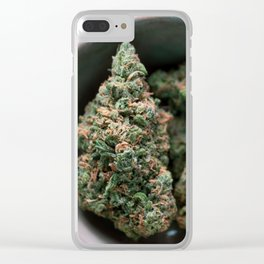 Blue Dreaming Clear iPhone Case