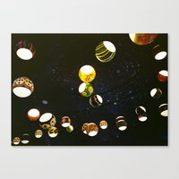 lantern Canvas Prints featuring Lantern by CHENG ZHI CHIAN