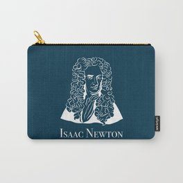 Illustration of Isaac Newton Carry-All Pouch