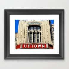 Uptown Theater, Chicago Framed Art Print
