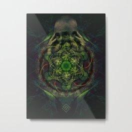 Strangefunk Mutation Metal Print