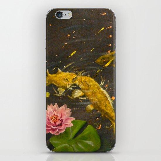 Kissing Koi iPhone & iPod Skin