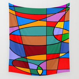 Abstract #74 Wall Tapestry