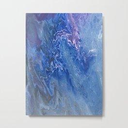 Stormy Lagoon Metal Print