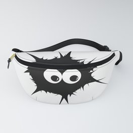 Cute monster furry Fanny Pack