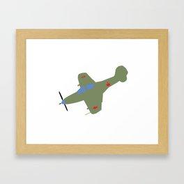 Soviet King Cobra P-39 Framed Art Print