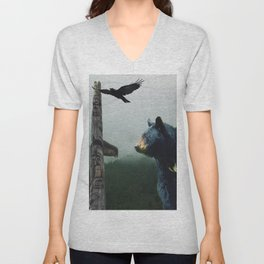 The Sacred Trail of the Great Bear Unisex V-Neck