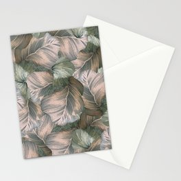 Heathered Grey Intertwine Stationery Cards