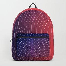 Mount Fuji Topography Backpack