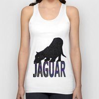 jaguar Tank Tops featuring Jaguar by Ben Geiger