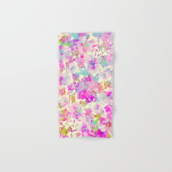 pretty flowers Hand & Bath Towel