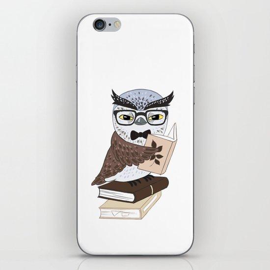 Professor Owl iPhone & iPod Skin