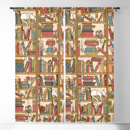 Bookshelf No. 1 Blackout Curtain