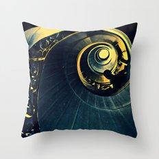 La spirale Throw Pillow