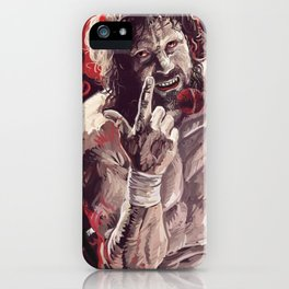 1 Winged Devil iPhone Case