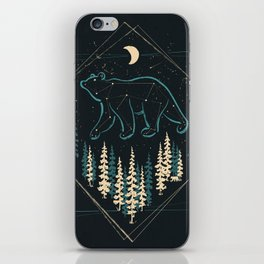 Heaven's Wild Bear iPhone Skin