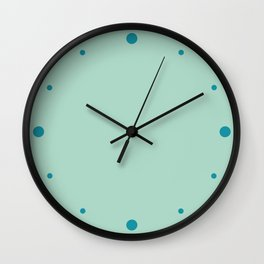 Tranquility (Green/Mint) Color Wall Clock