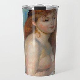 """Auguste Renoir """"Après le bain (Petite Baigneuse)"""" Travel Mug"""