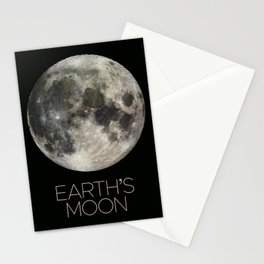 NASA-planet-asteroid poster Stationery Cards