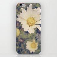 vintage flowers iPhone & iPod Skins featuring Vintage flowers by Herzensdinge