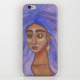Queen of the Night Sky iPhone Skin