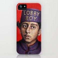 Lobby Boy / Grand Budapest Hotel / Wes Anderson Slim Case iPhone (5, 5s)