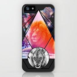 Lion Design iPhone Case