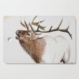 Bull Elk-19 Cutting Board