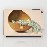 seashell iPad Cases featuring Seashell by Sowthistle