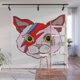 Heroes Cat Head Wall Mural