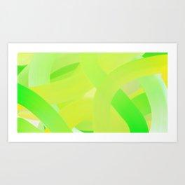 Ripe Banana Art Print
