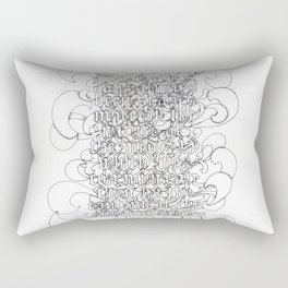 McLuhan Rectangular Pillow