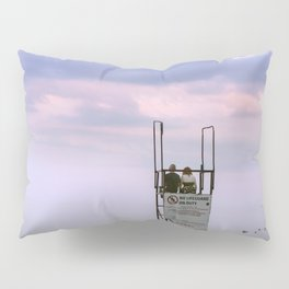 COUPLE AT SUNSET BEACH Pillow Sham
