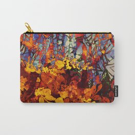 pluie d'automne/fall's rain Carry-All Pouch