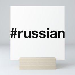 RUSSIA Mini Art Print