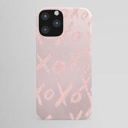 Blush LOVE - XOXO - iPhone Case