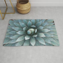 Tranquil Blue Glow Rug
