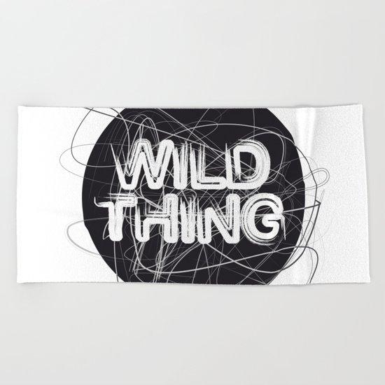 Wild Thing Beach Towel