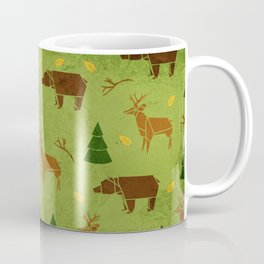 Woodland Origami Coffee Mug