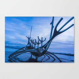 The Sun Voyager Canvas Print