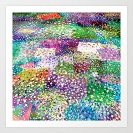Rainbow Terra Firma Art Print