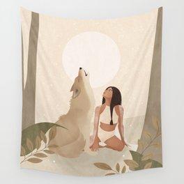 Spirit Animal – Wolf Wall Tapestry