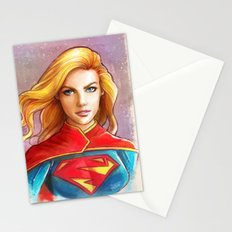 Supergirl Stationery Cards