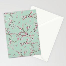 SAKURA  - PRETTY MINT Stationery Cards
