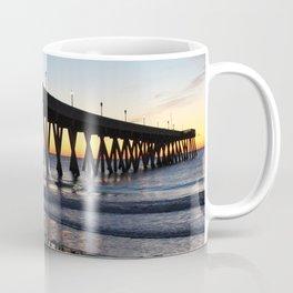 Alone On The Pier Coffee Mug