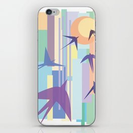 Birds and the Sun iPhone Skin